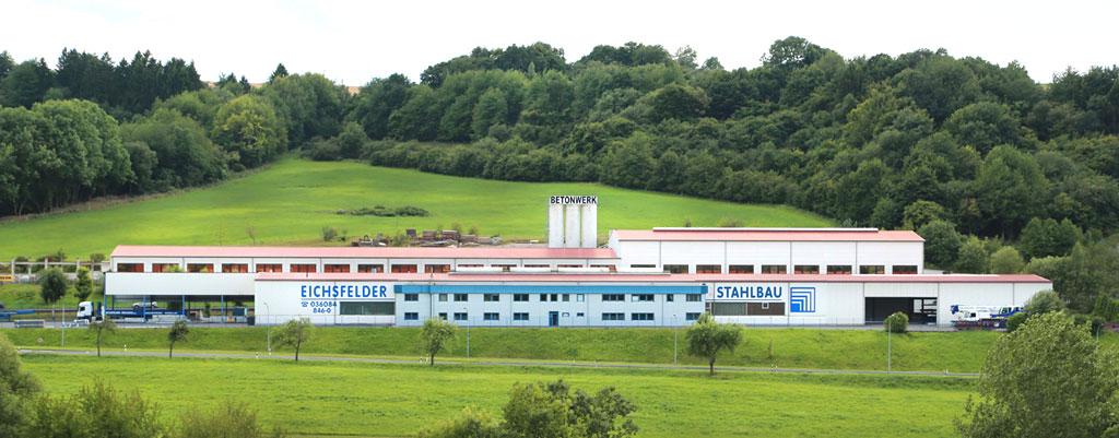 Eichsfelder Stahlbau GmbH in Geisleden, Thüringen